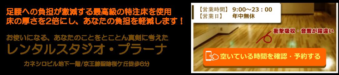 聖蹟桜ヶ丘・多摩のレンタルスタジオ・ダンススタジオのプラーナ-府中市、日野市、永山、高幡不動の方も活用